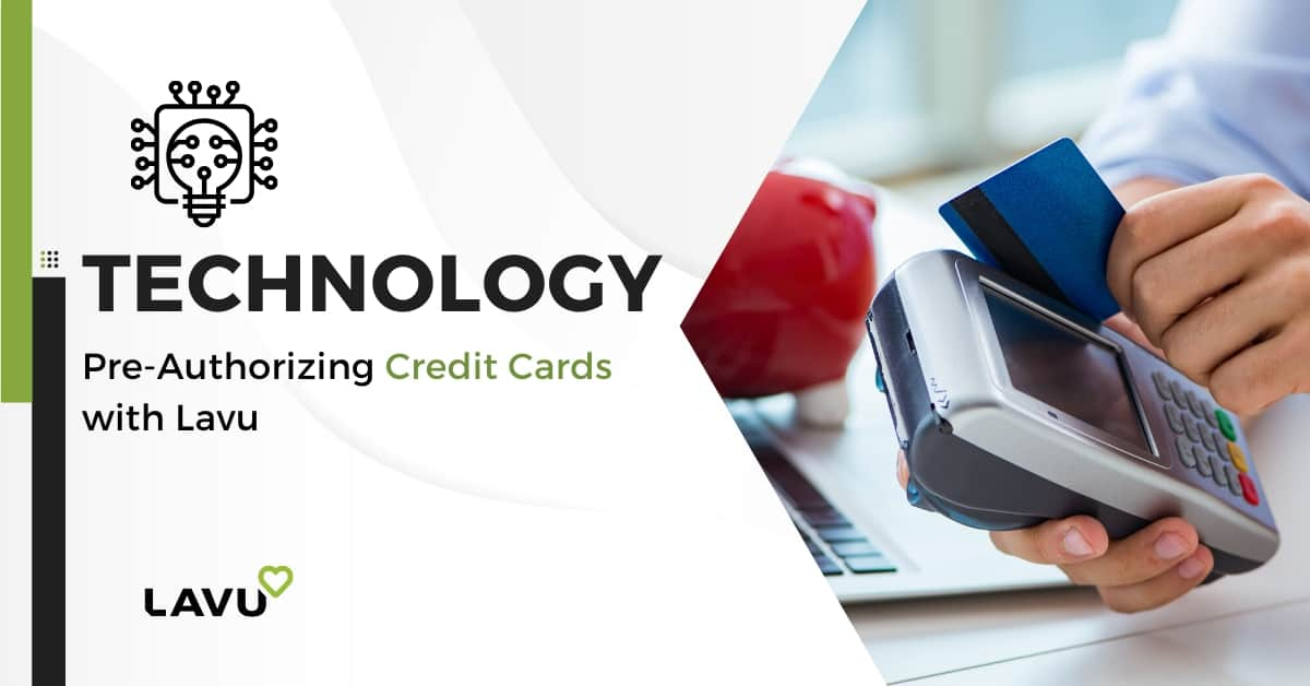 Pre-Authorizing credit cards